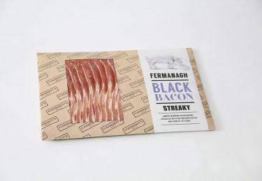 Streaky Fermanagh Black Bacon
